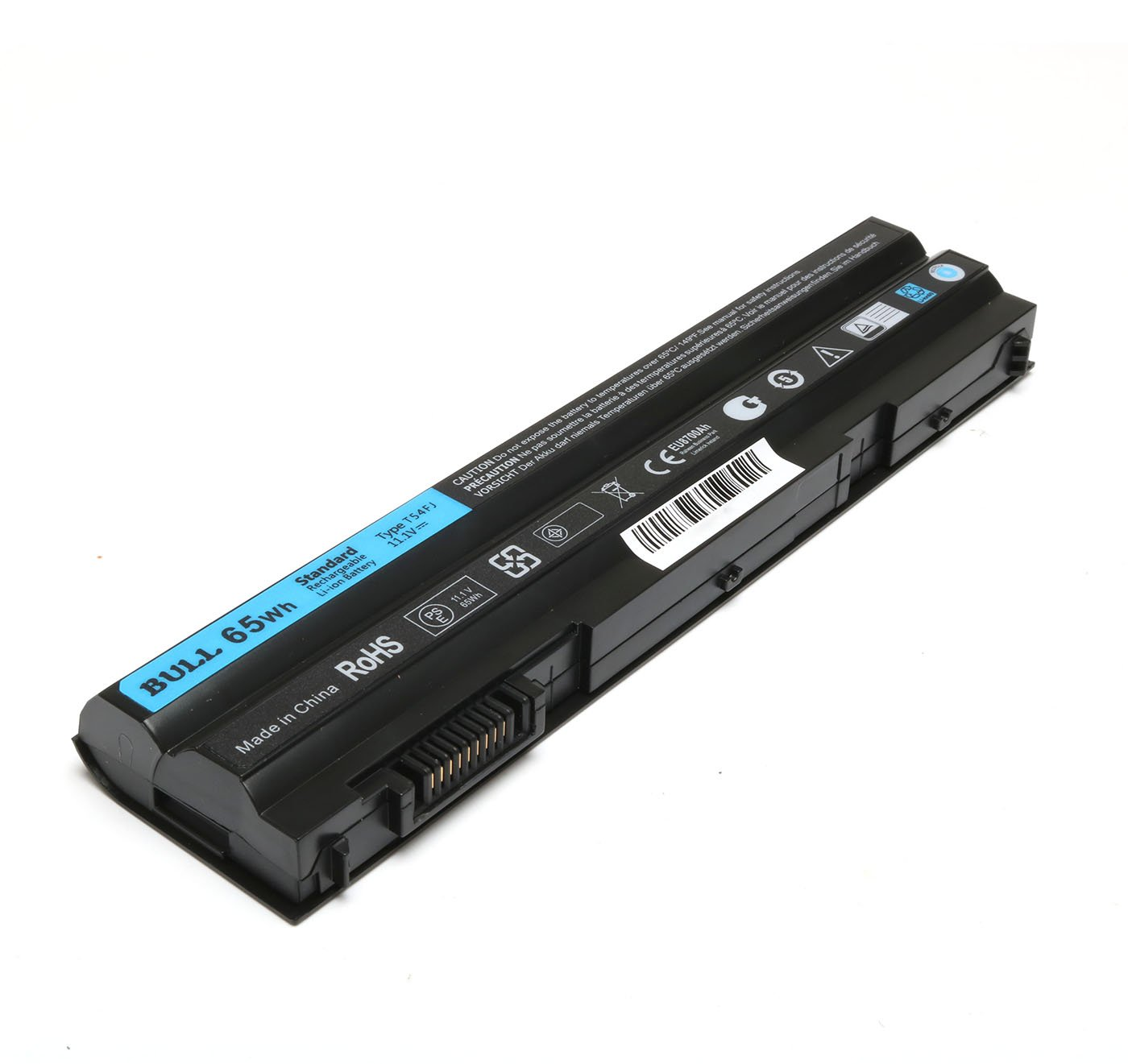 BULL-TECH 11.1V T54FJ New Laptop Battery for Dell Latitude E5420 E5520 E6420 E6520 Compatible P/N: M5Y0X 312-1163 HCJWT 7FJ92 by BULL-TECH (Image #5)