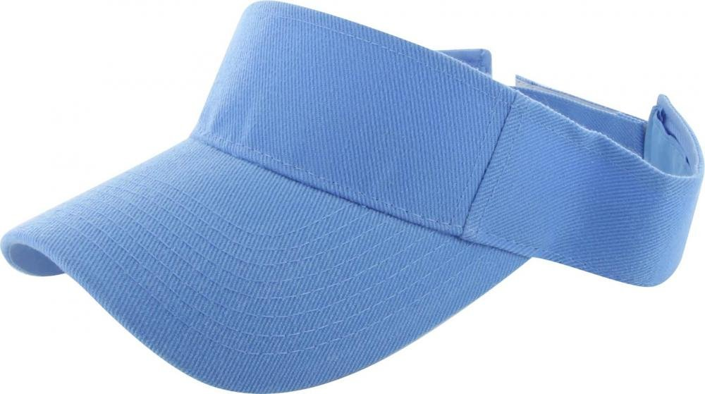Easy-W Sky Blue Outdoor Sport Hat Sun Cap Adjustable Velcro