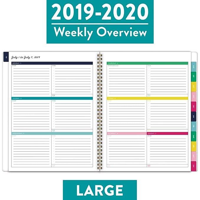 Amazon.com: Simplified 2019-2020 - Planificador semanal y ...