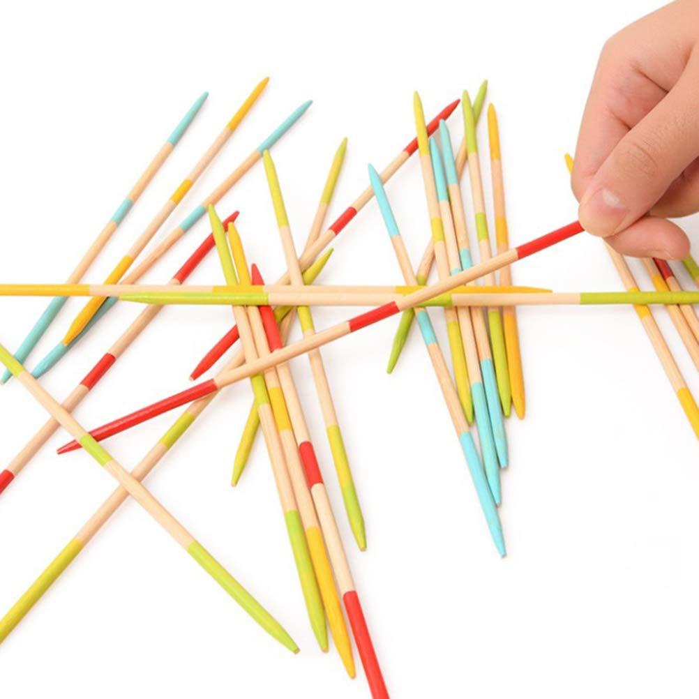 TOYANDONA Pick-up-Sticks Elternteil-Kind-Spiel Riese Pickup-Sticks Spiel Spaß für alle Altersgruppen