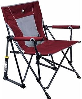 Brilliant Amazon Com Gci Outdoor Roadtrip Rocker Chair Raspberry Inzonedesignstudio Interior Chair Design Inzonedesignstudiocom