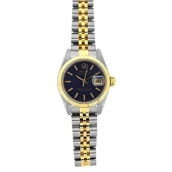 Rolex Datejust swiss-automatic azul para mujer reloj 69173blsj (Certificado) de segunda mano