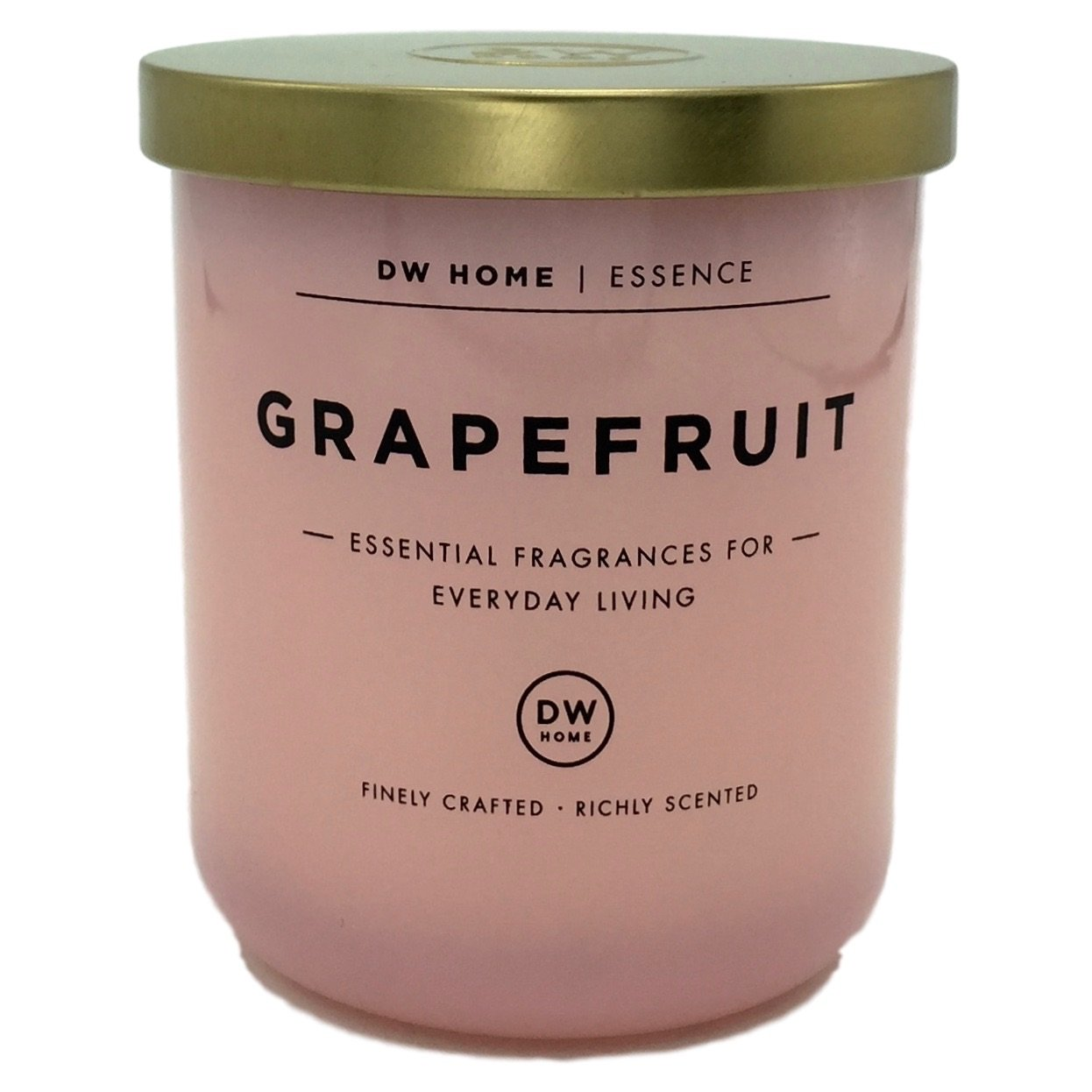 Dw Home Grapefruit Scented Soy Wax Blend Candle Essential Fragrances For Everyday Living 9 Oz