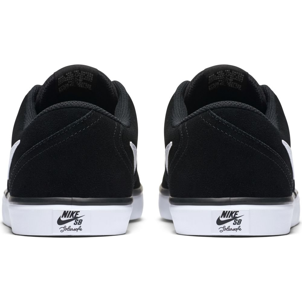 NIKE Men's SB Check Solar Black/White Skate Shoe 14 Men US by NIKE