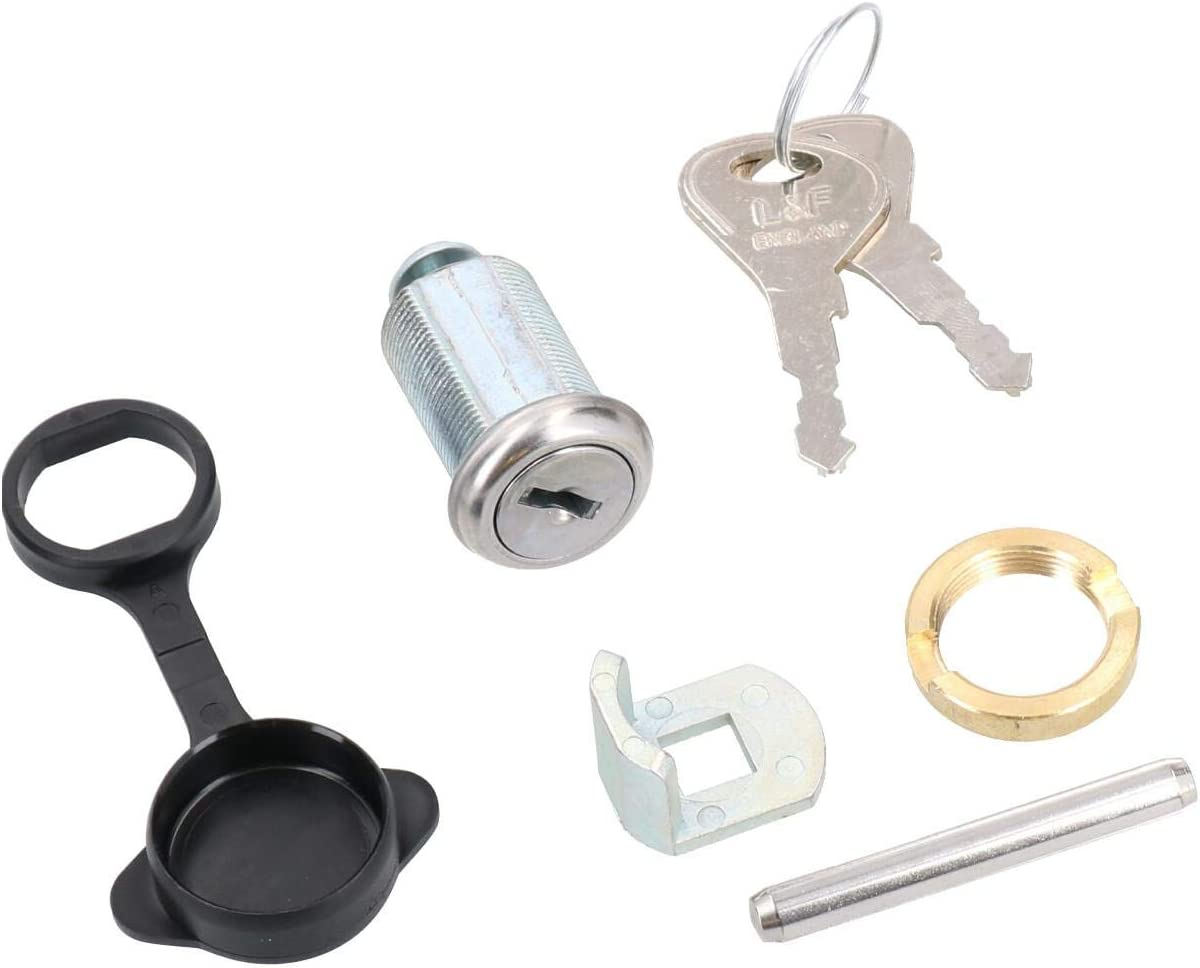AB Tools Genuine Replacement Hitch Lock Kit for Ifor Williams Trailers Coupling with 2 Keys