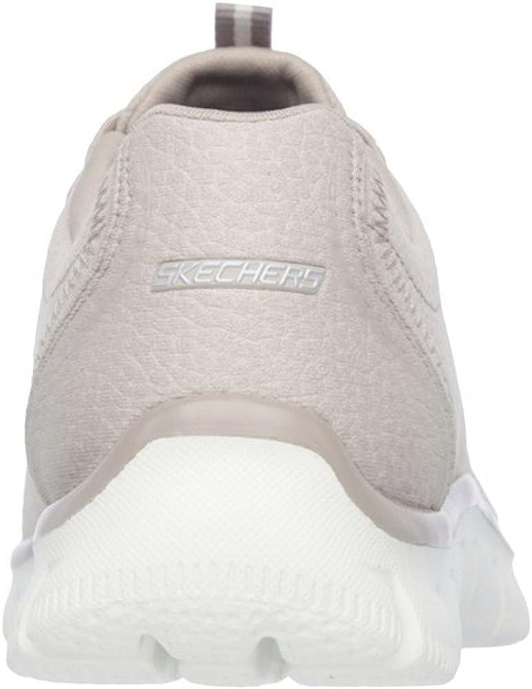 Skechers Empire Take Charge 12407 Zapatillas de deporte Mujer, Beige (tpe), 41 EU (8 UK): Amazon.es: Zapatos y complementos