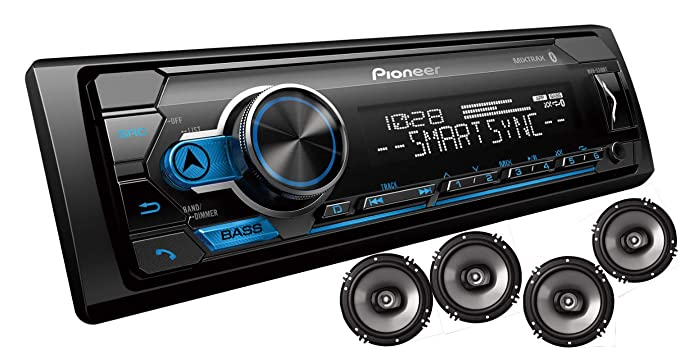 Pioneer MXT- S3166BT Digital Media Receiver + (4) 6 5