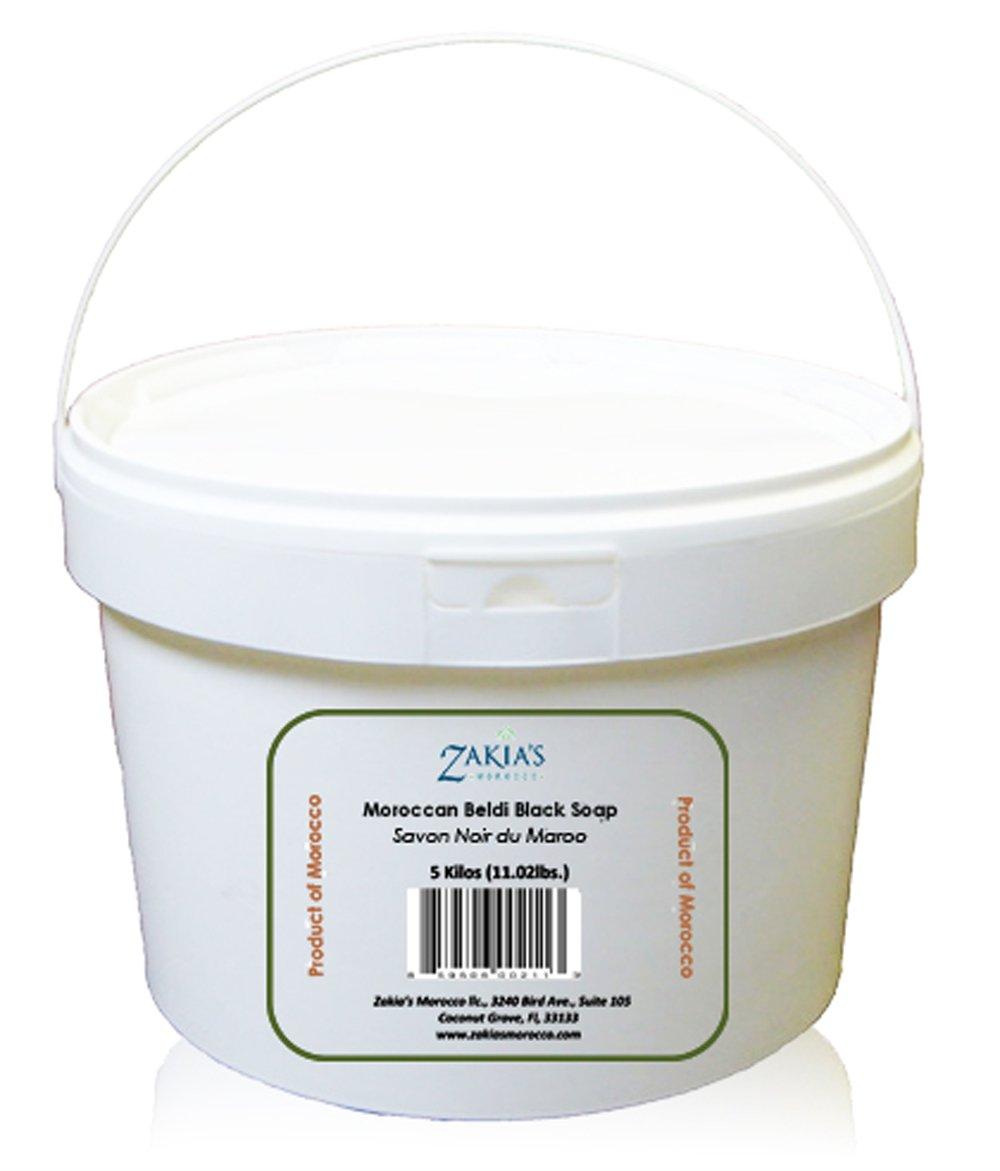 Moroccan Black Soap Professional - Lavender - 5 Kilo / 11 LBS