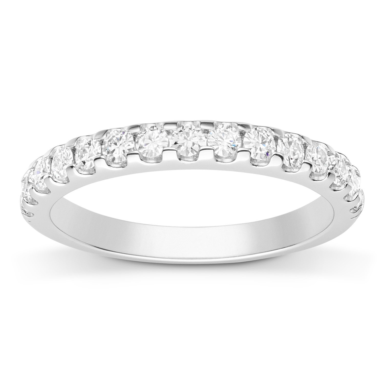 Forever Classic 2.0mm Moissanite Wedding Band-size 9, 0.45cttw DEW by Charles & Colvard