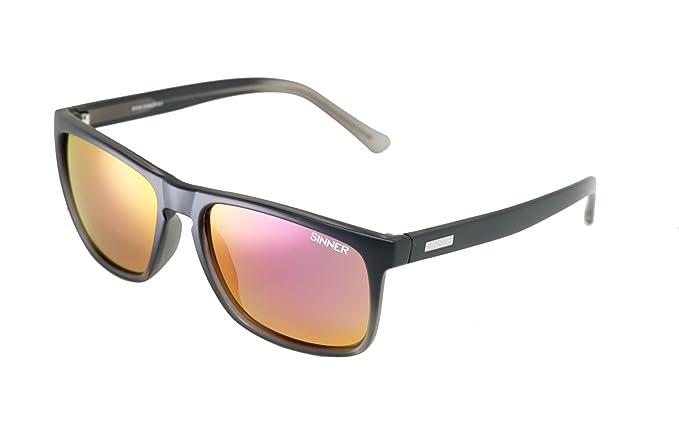 577f9ebf4b95 Sinner Adult Oak Polycarbonate Sintec Polarised Sunglasses – Matt Black,  SISU 719 -10 P58