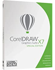 Corel DRAW Graphics Suite X7 - Special Edition - OEM - DEUTSCH - DVD-Box - Windows 7, 8, 8.1, 10