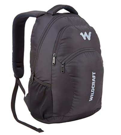 459fd04a8 Wildcraft Ace 2_Black 21 L Medium Backpack