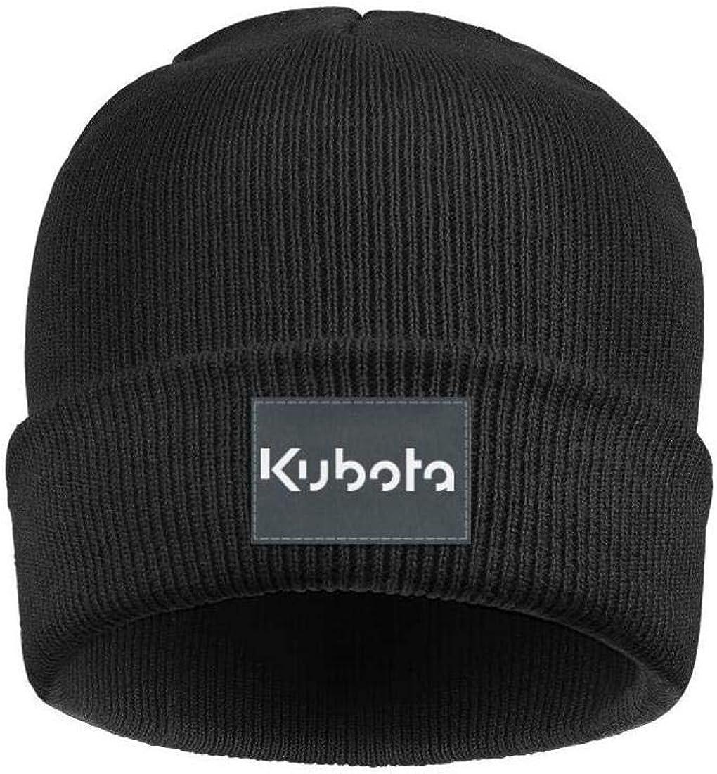 Styles Winter Warm Knitted Cap Knit Hat for Mens Women Kubota-Logo.o