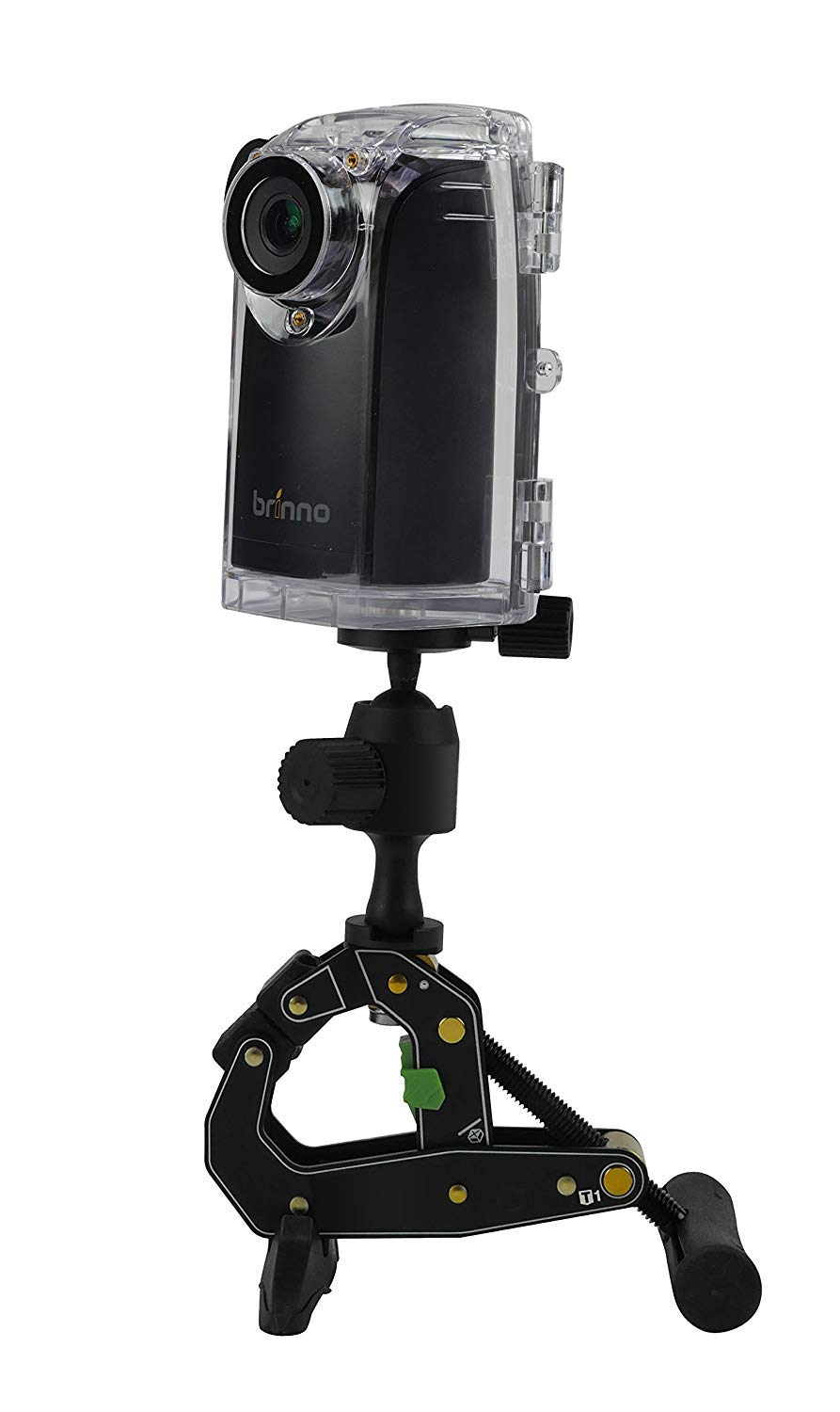 Brinno BCC200 Time Lapse Camera w/Mount & Accessories Best For Construction & Outdoor Security 80 Days Battery Life, 720p HD, Weather Resistant Case Batteries Included by Brinno