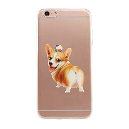 coque iphone 6 corgi