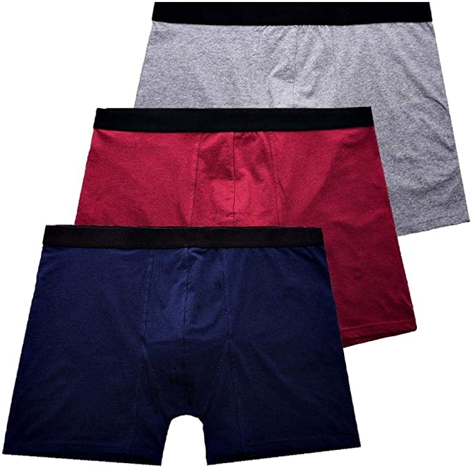 Calzoncillos Boxer para Hombre 3Pcs / Lot Boxers Largos Hombres ...