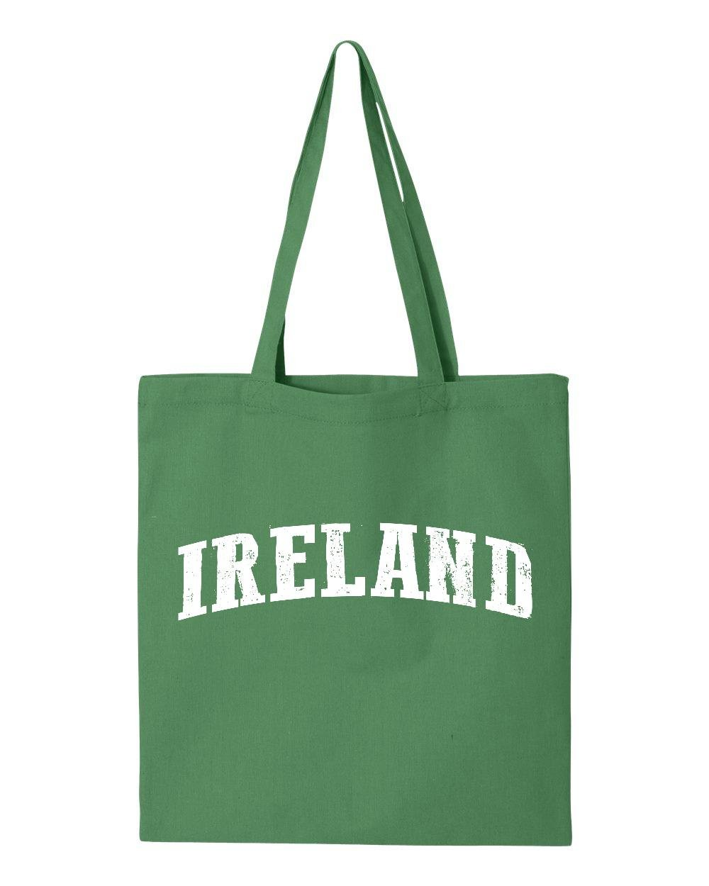 Ugo What To Do in Ireland Travel Guide Deals Dublin Belfast Map Irish Flag Tote Handbags Bags Work School Travel by Ugo