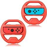 Ratt för Nintendo Switch Joy-Con, kontrollgrepp för Nintendo Switch Controller (blå + röd)