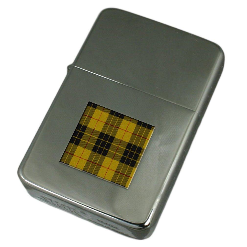 Engraved Lighter Tartan Clan MacLeod