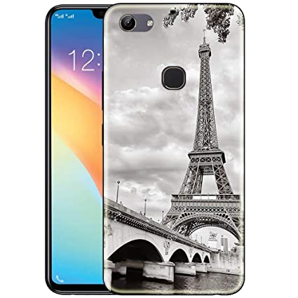 100% authentic afd9a c23ce Snazzy Silicone and Rubber Back Cover for Vivo Y81: Amazon.in ...