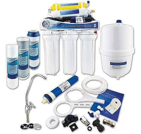 HiKiNS Sistema de filtración de Agua de ósmosis inversa RO-150G ...