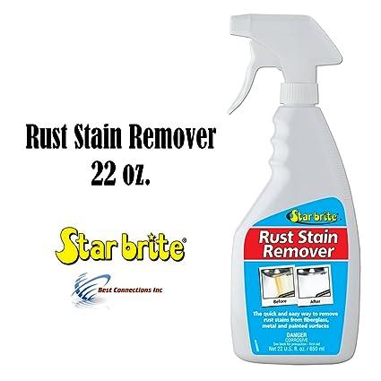 Quitamanchas Óxido Spray, buena 650 de fibra de vidrio y metal Star Brite – limpiador