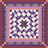 Easy Galaxy Star Queen Size Quilt Kit/Pocket Of Posies/EXPEDITED SHIPPING