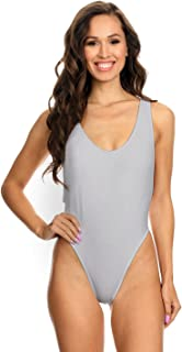 product image for Dippin' Daisy's Women's Sporty and Sleek Swimwear Scoop-Neck Deep Wide Cut One Piece Bikini