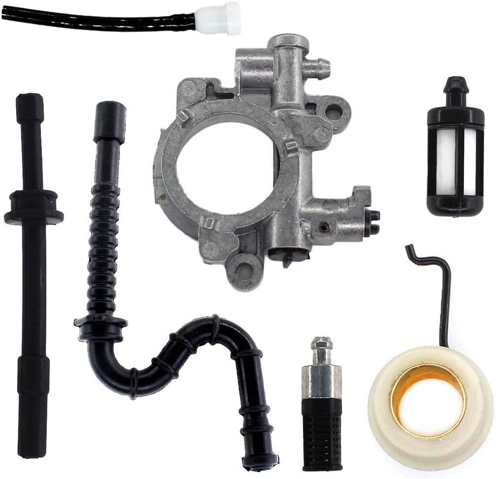 Intake Manifold Fuel Oil Line Chainsaw Fit For Stihl MS029 039 MS310 MS390 MS290
