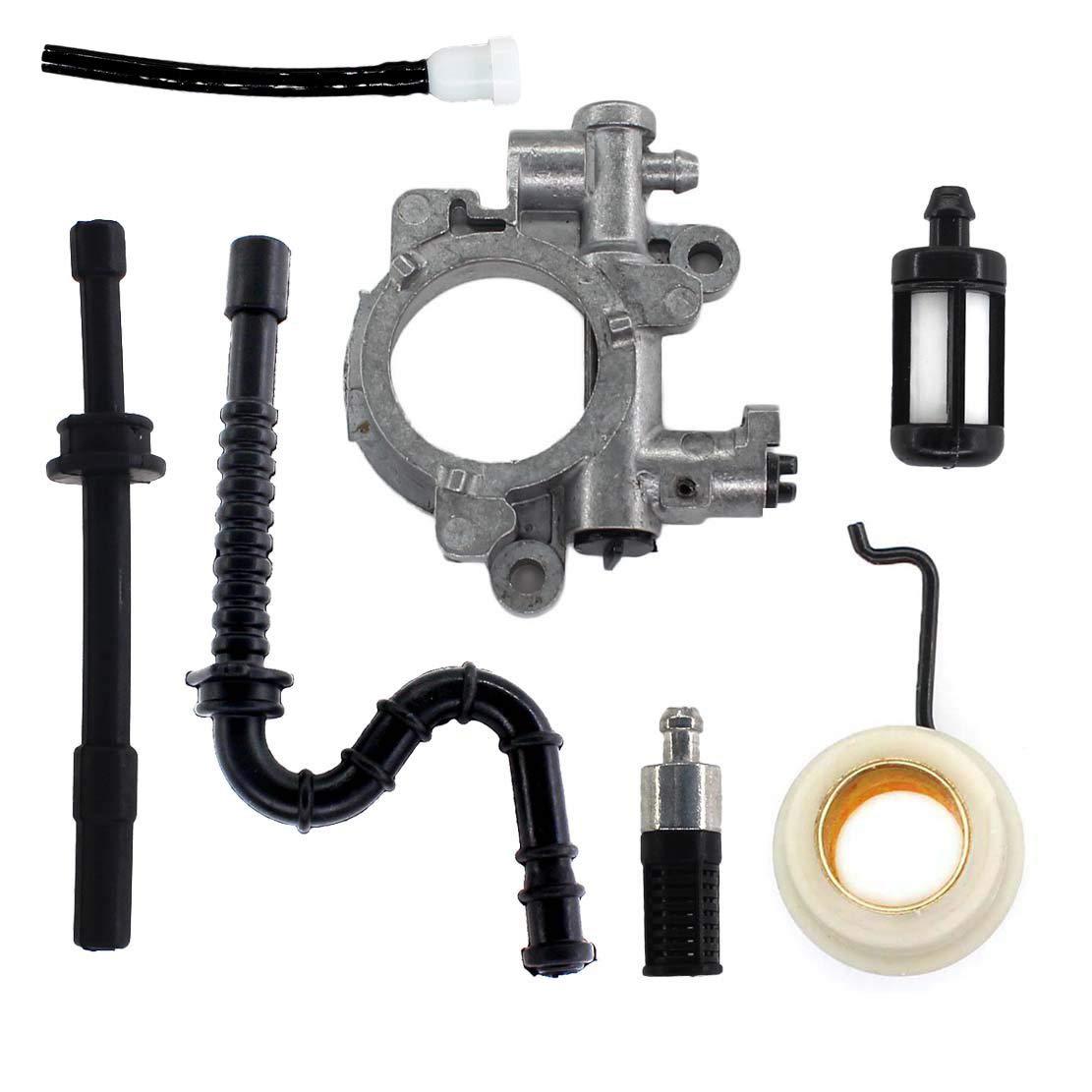 USPEEDA Oil Pump Oiler & Worm Gear Spring for Stihl 029 039 MS290 MS310 MS390 MS311 MS391 by USPEEDA