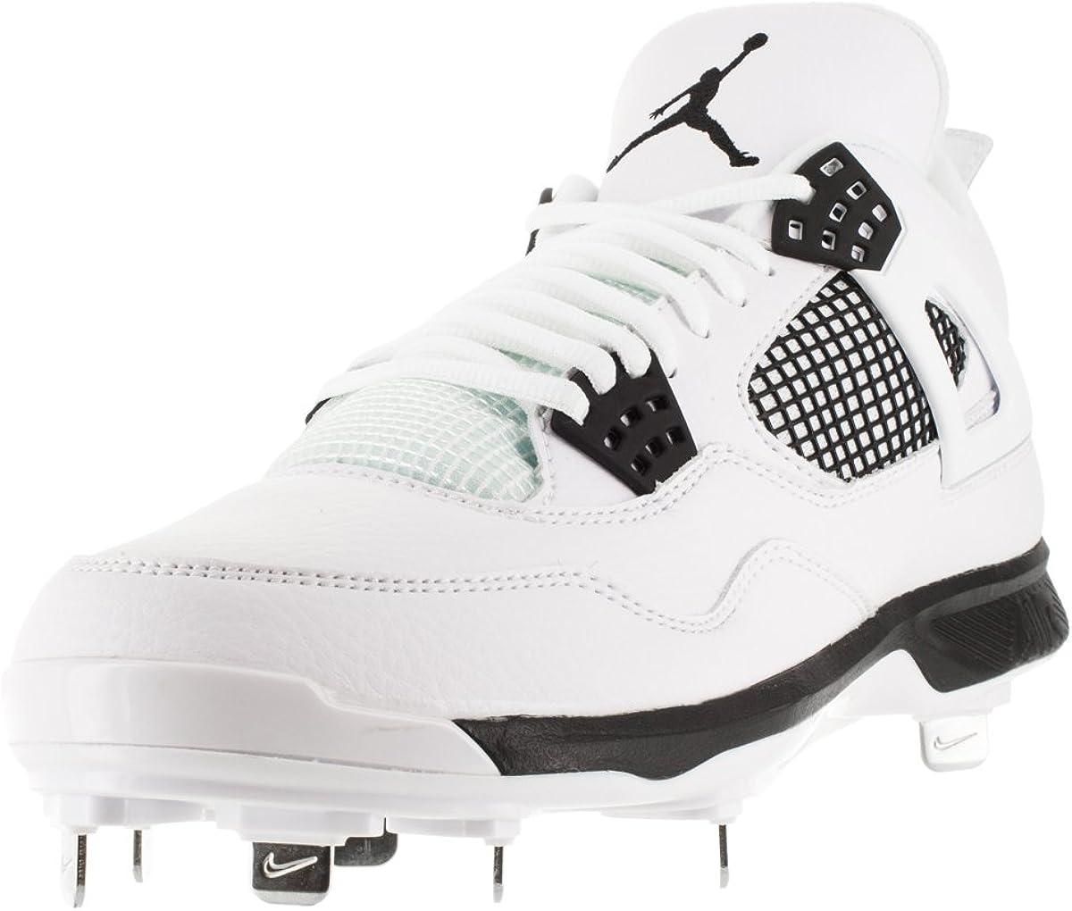 Amazon.com   Nike AIR Jordan IV Retro Metal Mens Baseball-Shoes ...