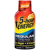 5 hour ENERGY Orange Regular, Orange, 57 ml