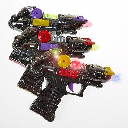 Amazon.com: Light Up Juguete del niño Espacio Alien Blaster ...