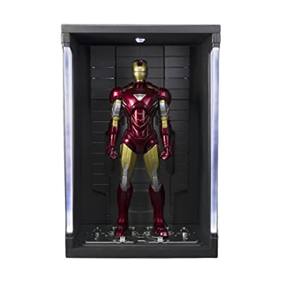 "Bandai Tamashii Nations ""Iron Man 2"" S.H. Figuarts MK. VI & Hall of Armor Set: Toys & Games"
