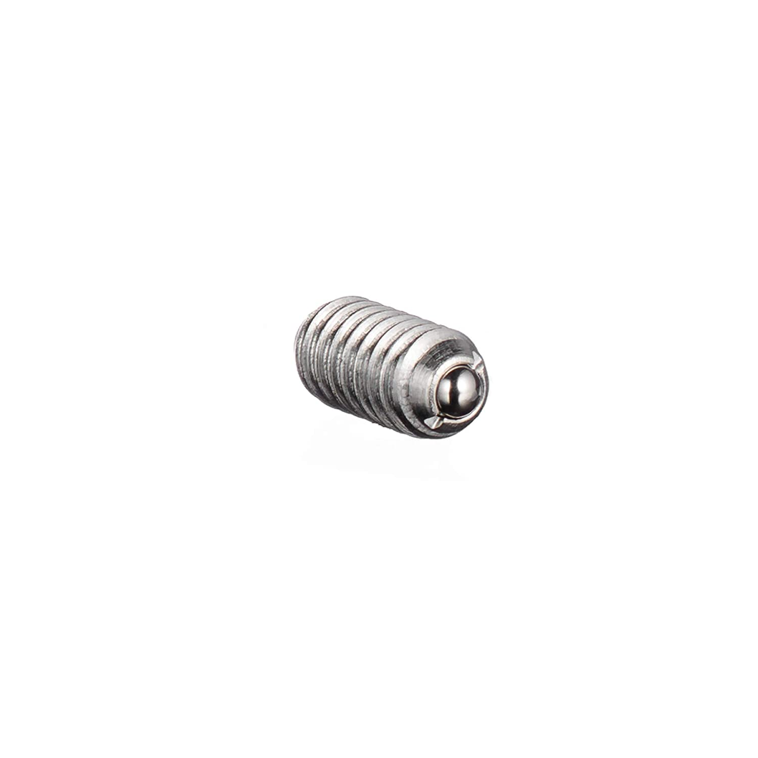 VLIER SSBL52P STAINLESS STEEL SPRING LOADED BALL PLUNGER LIGHT END FORCE LOCKING THREAD STAINLESS STEEL COATING CUT CUTTING ANGLE FLUTE
