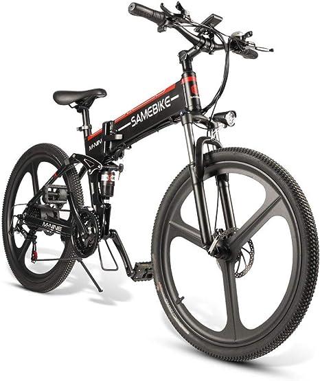SRXH MTB Bicicleta de montaña-350 W Motor, 26 Pulgadas 25 km/h ...