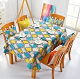 Gotd New Geometry Pattern Table Cloth Tablecloth Thick Cotton linen Tablecloth Soft 100cmx40cm