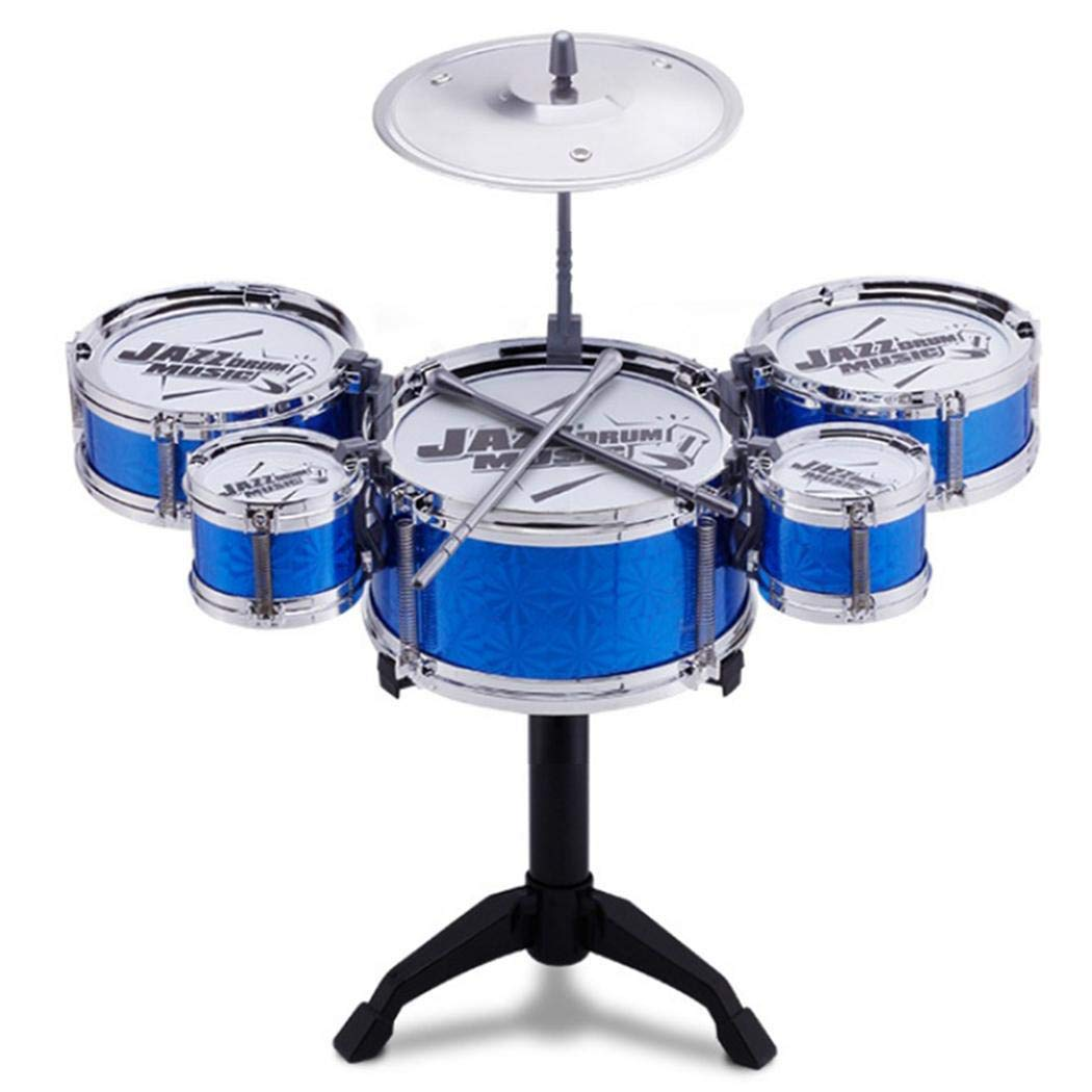 Ladiy Simulation Jazz Drum Hitting Drums Children Musical Instruments Toys Drums & Percussion