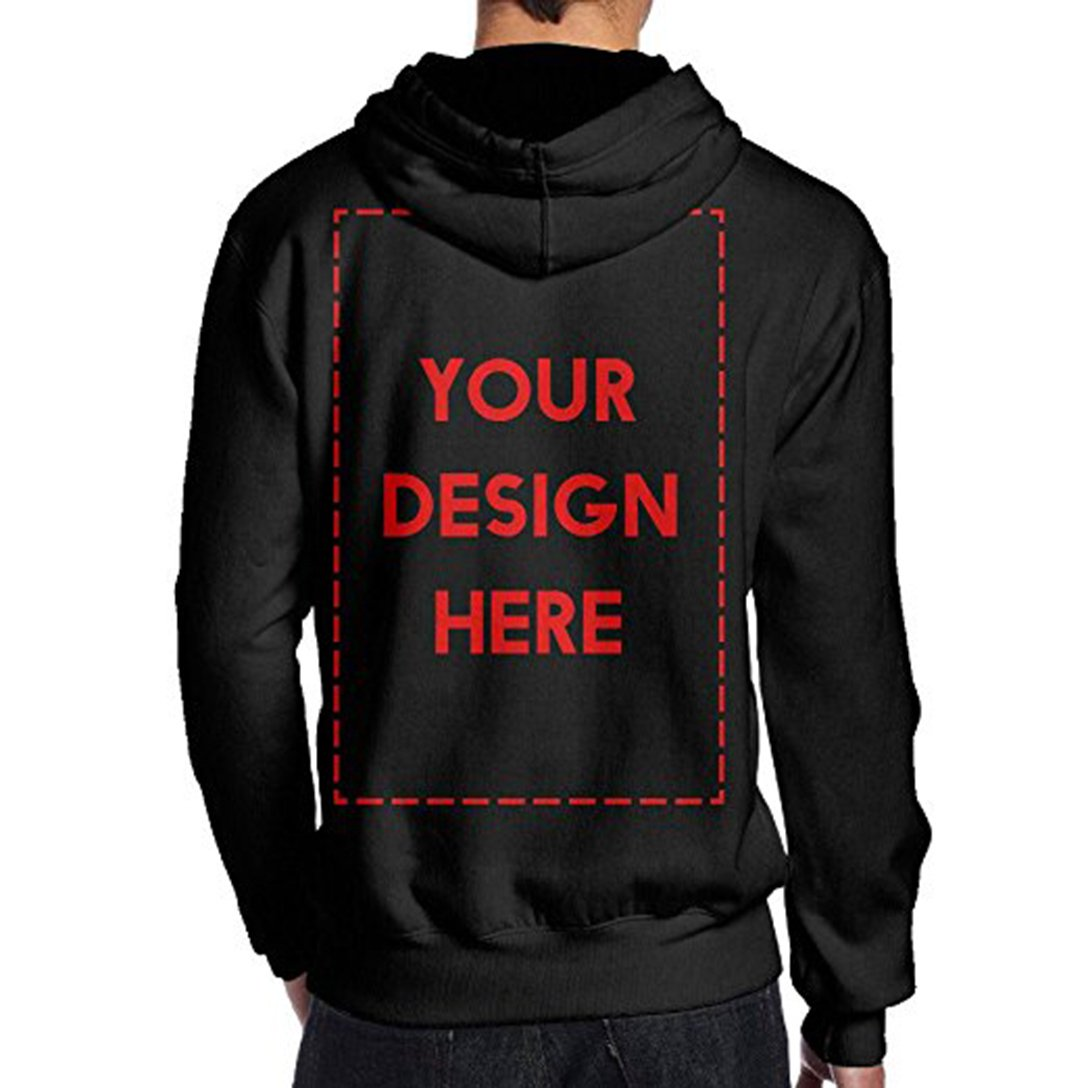KaMoM Unisex Personalized Hooded Sweatshirts Tops Blouse Customized Graphic Blend Pullover Sweaters Jacket