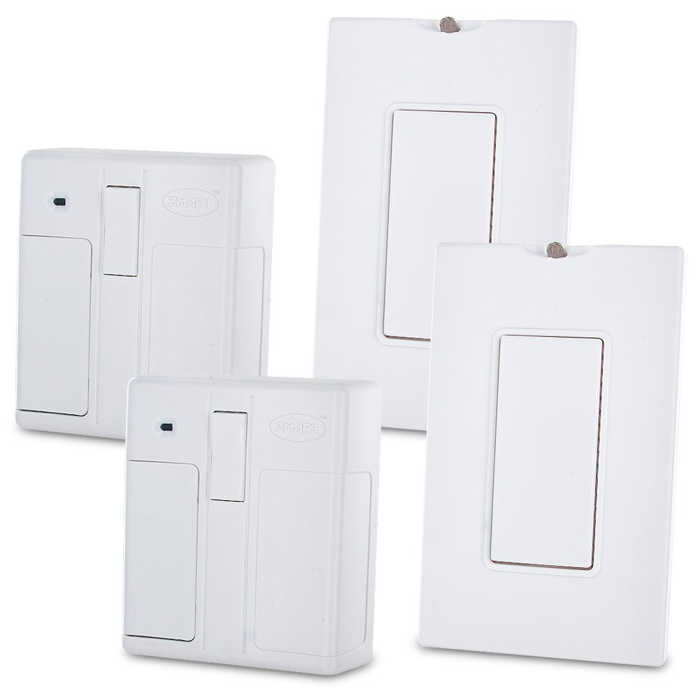 Zmart Switch - Smart & Easy Way to Control Any Light Switch (2 Pack)