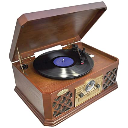 Amazon.com: Pyle Home ptcd4bt Tocadiscos estilo retro con ...