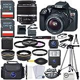 : Canon EOS Rebel T6 DSLR Camera w/ EF-S 18-55mm Lens + Premium Accessory Bundle