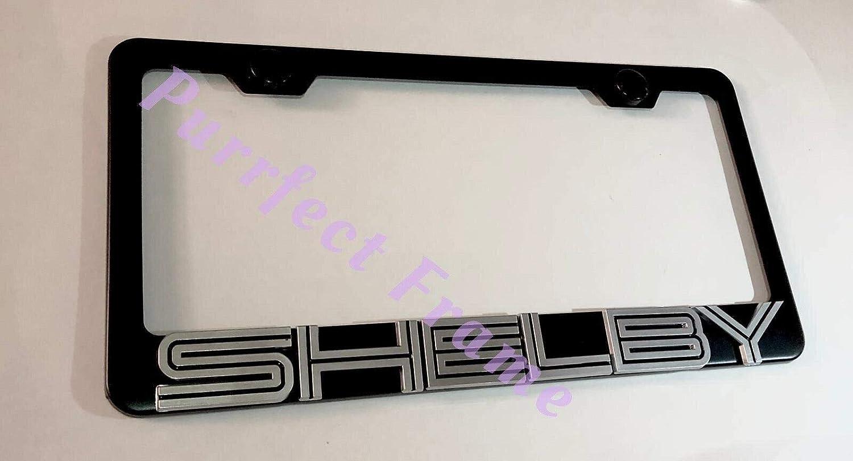 Lexus F Sport Logo Stainless Steel License Plate Frame Rust Free W// Bolt Caps