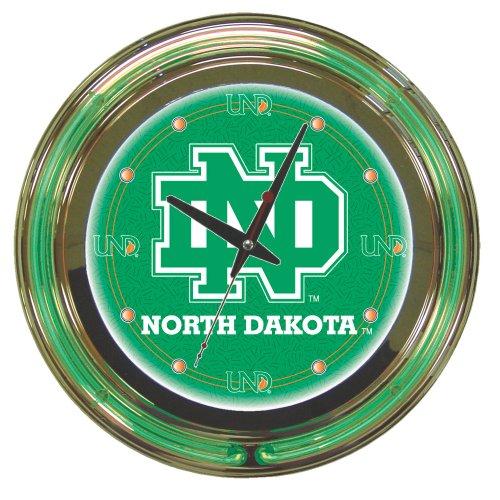 North Dakota Fighting Sioux Wall Clocks Price Compare
