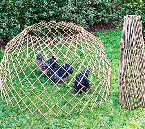 FINCA CASAREJO Cercado gallinas. Parque móvil Extensible de Madera Muy Resistente: Amazon.es: Jardín