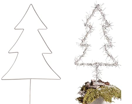 Wire Christmas Tree.Large 40cm Wire Christmas Tree To Decorate Adults Crafts