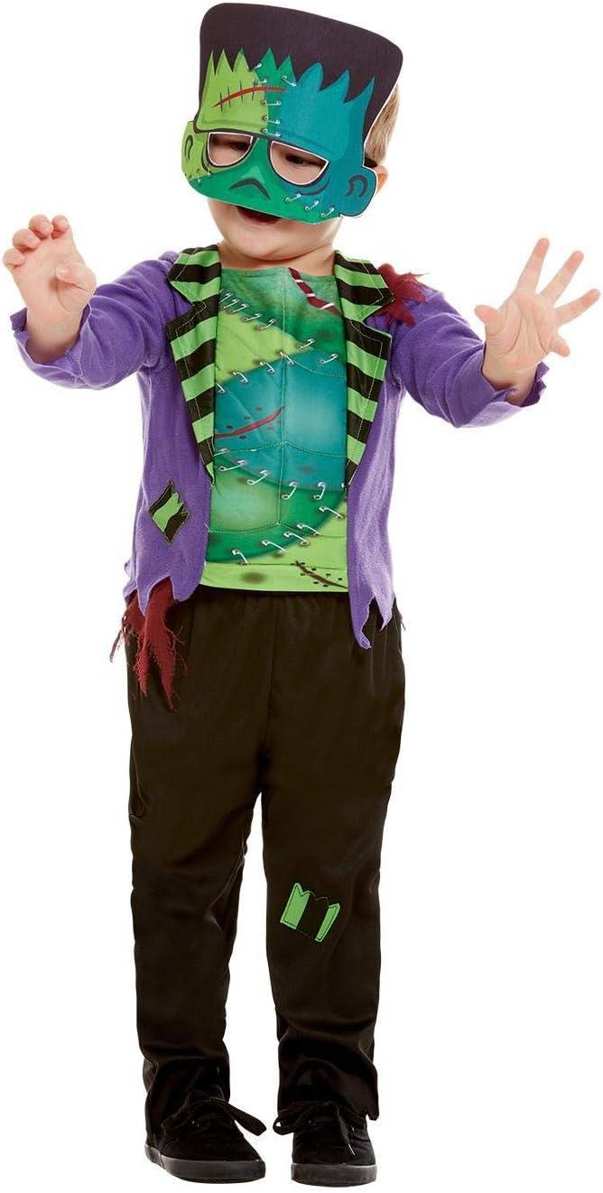 Smiffys 50793T2 - Disfraz infantil de monstruo para niños (3-4 ...