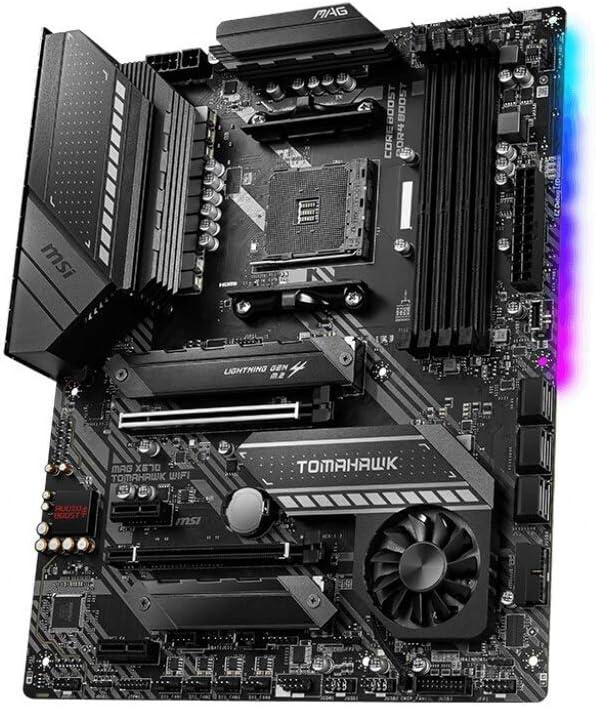 Amazon.com: MSI MAG X570 Tomahawk WiFi Motherboard (AMD AM4, DDR4, PCIe 4.0, SATA 6Gb/s, M.2, USB 3.2 Gen 2, AC Wi-Fi 6, HDMI, ATX): Computers & Accessories