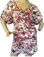 French Connection Women's Red Floral Tie Dress 6