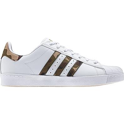 adidas superstar, te avanzata traccia ftw bianco / brown / scarpe d'oro: amazon